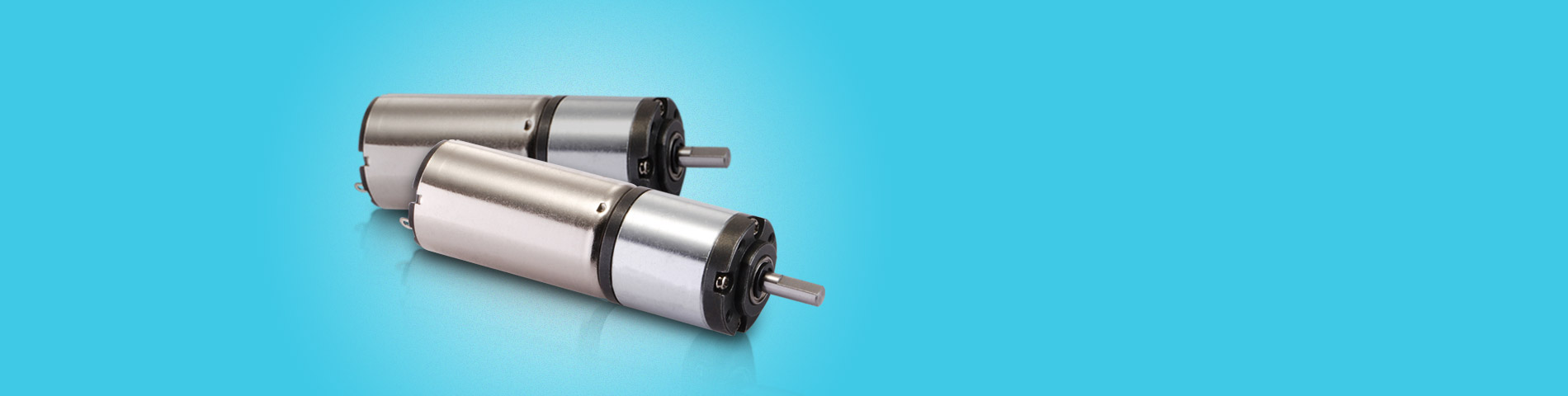 We Make DC Gearmotors Over 20 Years
